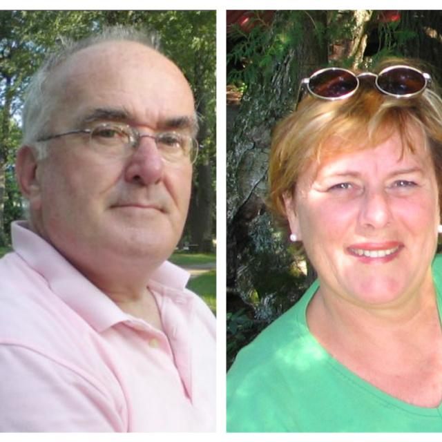 Donald Guertin et Francine Guertin-Wilson
